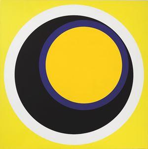 h (jaune) by Geneviève Claisse contemporary artwork