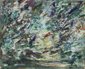 Le marais by Jean Milo contemporary artwork
