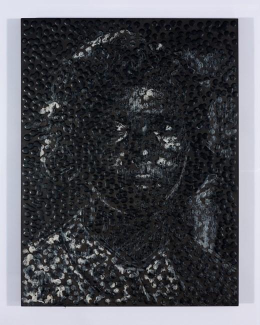 Untitled (J) by Daniel Boyd contemporary artwork