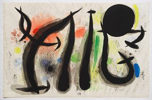 Untitled by Joan Miró contemporary artwork
