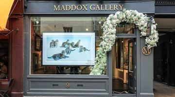 Maddox Gallery contemporary art gallery in Shepherd Market, London, United Kingdom