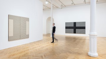 Contemporary art exhibition, Brent Wadden, sympathetic resonance at Pace Gallery, London