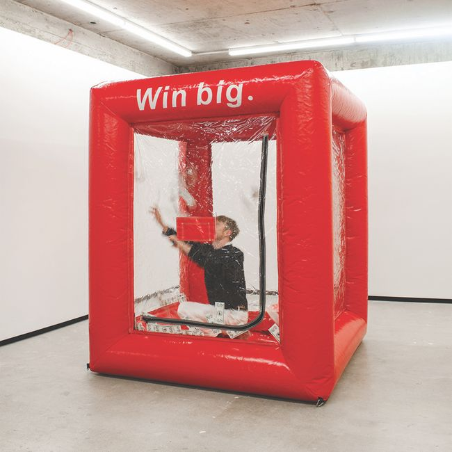 BIG WIN by Elisabeth Pointon contemporary artwork