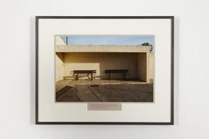 A l'espère / Devant le cimetière by Sophie Calle contemporary artwork