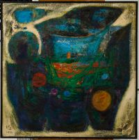 Revelation of Bronze C-38 by Pang Tao contemporary artwork painting