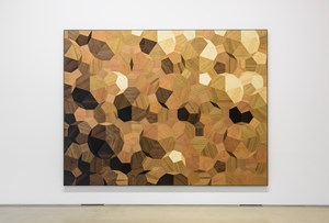 Pebbles on the beach (parquet) by Olafur Eliasson contemporary artwork