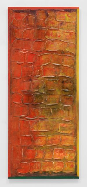Dawnshoot by Frank Bowling contemporary artwork