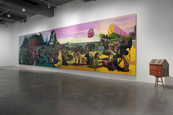 Exhibition view: Xu Bacheng, Island of Immortality 永生之岛,ARARIO GALLERY, Shanghai (27 July– 13 October 2019). CourtesyARARIO GALLERY.