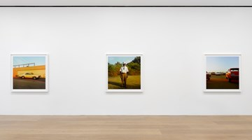 Contemporary art exhibition, William Eggleston, 2¼ at David Zwirner, London