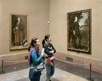 Museo Del Prado 2 by Thomas Struth contemporary artwork photography