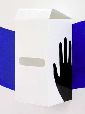Postbox (Gentle Decline Reach Around: Right) by Thomas Jeppe contemporary artwork