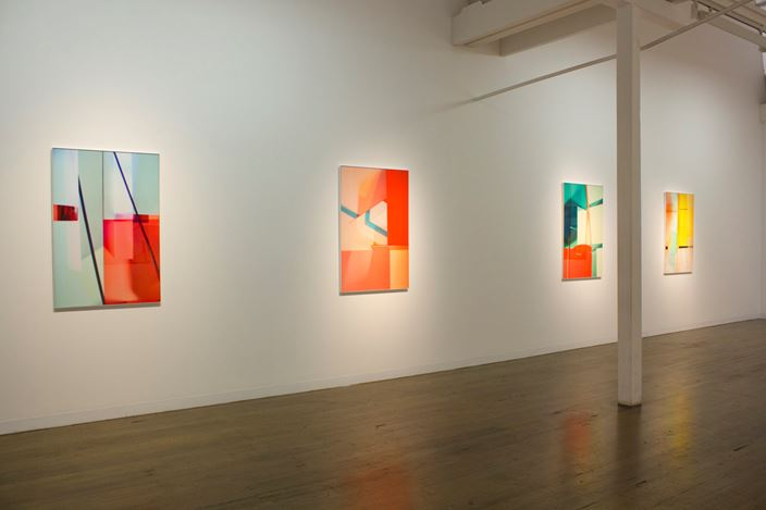 Exhibition view: Lydia Wegner, Shifting Light, Arc One Gallery, Melbourne (13 March–13 April 2019). Courtesy Arc One Gallery.
