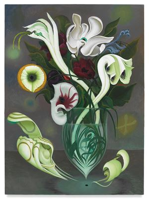 Full Bloom by Inka Essenhigh contemporary artwork