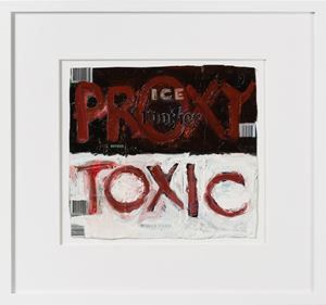 proxy toxic by Fiona Hall contemporary artwork painting, sculpture