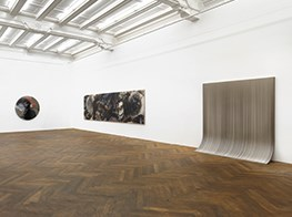 Volcanic Ash Mixes With Resin at Sunaryo Show in Berlin