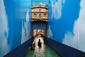 Venetian Canal, Italy by Steve McCurry contemporary artwork