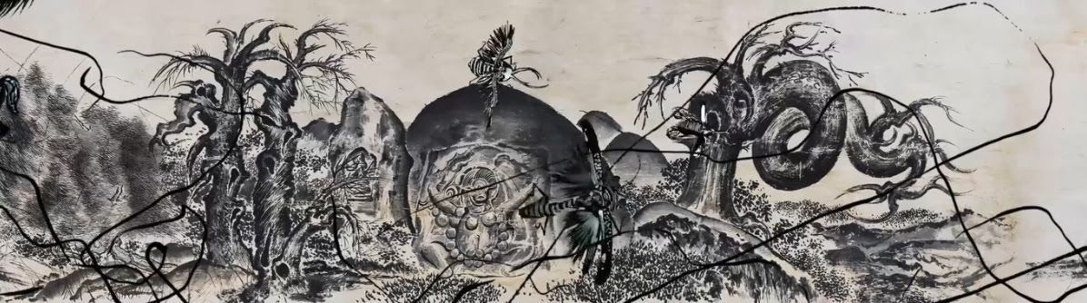 SUN Xun, Mythological Time (2016). Two-screen animation, 12             minutes 44 seconds, edition of 6 + 2AP. Courtesy ShanghART.