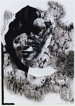 Lacuna Lotto, 2011 (For Parkett 89) by Charline von Heyl contemporary artwork