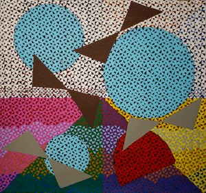 Flying birds by Telly Tuita contemporary artwork