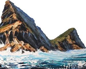 Ocean Double Peak by Neil Frazer contemporary artwork