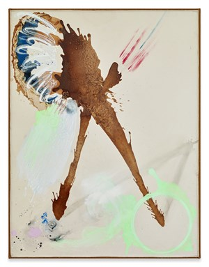 The Blow by Lucy Dodd contemporary artwork