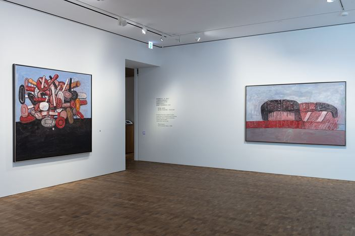 Exhibition view: Philip Guston, A Painter's Forms, 1950 – 1979, Hauser & Wirth, Hong Kong(29 May–25 August 2018). Courtesy Hauser & Wirth.