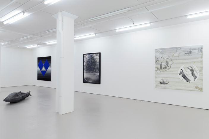 Exhibition view: Recalibrating, Bartley & Company Art, Wellington (12 February–13 March 2021). Courtesy Bartley & Company Art.