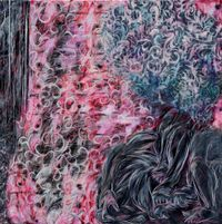 Duplicated Movement by Juin Shieh contemporary artwork painting, works on paper