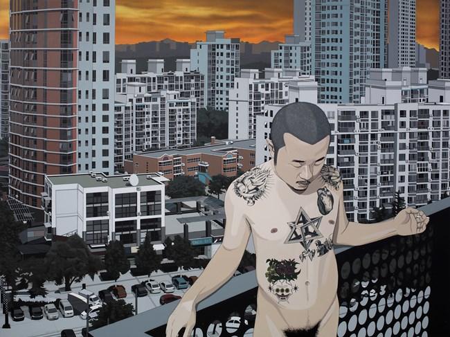 I am the Jungle by Chen Fei contemporary artwork