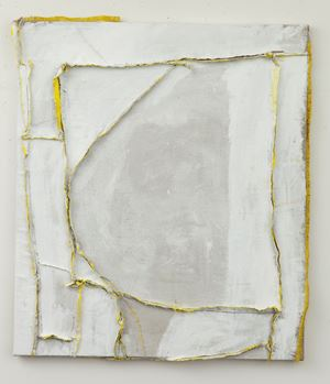 Map for a harp by Teelah George contemporary artwork