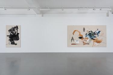 Exhibition view:Elizabeth Neel,Vulture and Chicks, Pilar Corrias, London (13 May–16 June 2016).© Elizabeth Neel.Courtesy the Artist and Pilar Corrias.