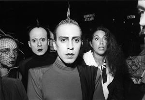 Joey Arias and Klaus Nomi by Bill Cunningham contemporary artwork