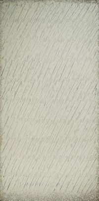 Ecriture (描法) No. 201-85 by Park Seo-Bo contemporary artwork painting, works on paper, drawing