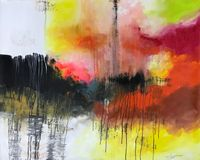 Missing Home by Myint Soe contemporary artwork painting