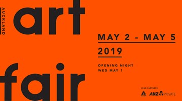 Contemporary art exhibition, Auckland Art Fair 2019 at Two Rooms, Auckland