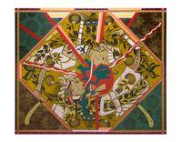 Found Buried #3 by Lari Pittman contemporary artwork painting