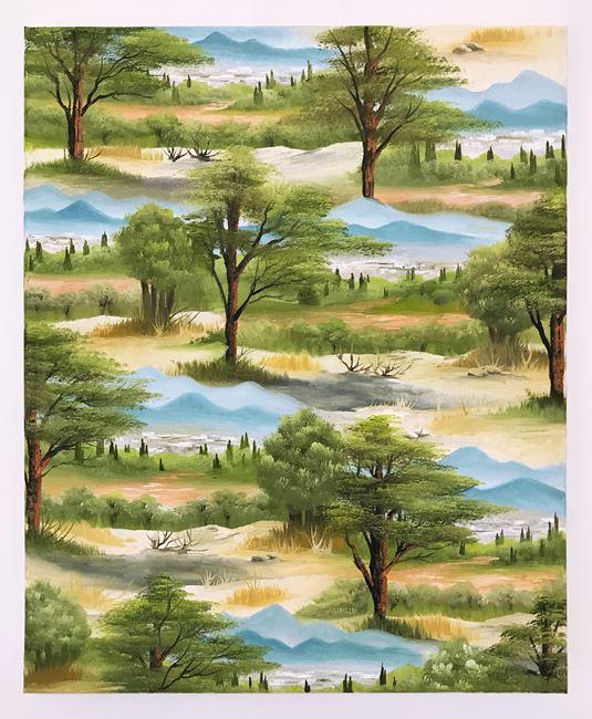 Filopappou Hill by Neil Raitt contemporary artwork
