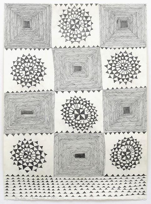 Between Tonga and Aotearoa by John Pule contemporary artwork
