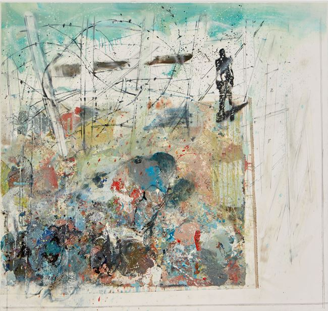 Dove vanno? by Cesare Lucchini contemporary artwork
