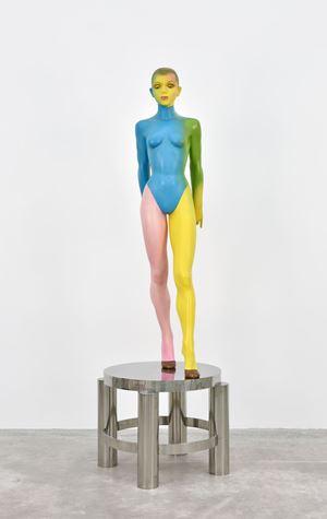 Waiting on Table II (with wedge heels) by Allen Jones contemporary artwork
