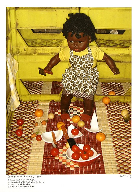 Come on in my kitchen by Destiny Deacon contemporary artwork