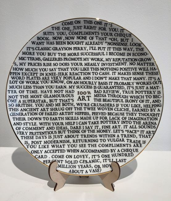 100% Art by Grayson Perry contemporary artwork