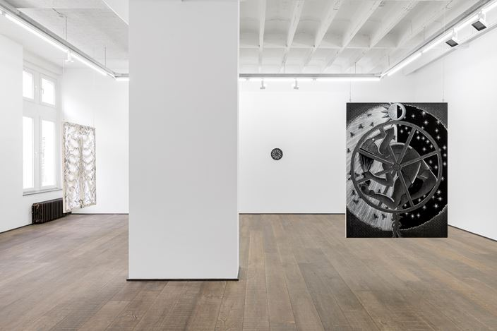Exhibition view: Cindy Ji Hye Kim,Riddles of the Id, rodolphe janssen, Brussels (2 May–18 July 2020). Courtesy the artist and rodolphe janssen, Brussels.Photo: HV photography.