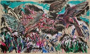 Afternoon of Dramatic Yimatu Mountain by Sun Xun contemporary artwork