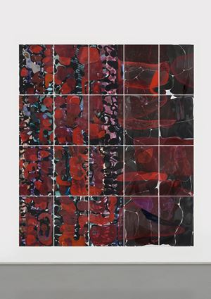 Hard Palate 20-2 by He Xiangyu contemporary artwork