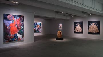 Contemporary art exhibition, Marina Cruz, Rao Fu, Shi Jin-Hua, Renaissance at Mind Set Art Center, Taipei