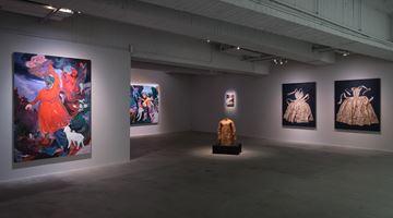 Contemporary art exhibition, Marina Cruz, Rao Fu, Shi Jin-Hua, Renaissance at Mind Set Art Center, Taipei, Taiwan