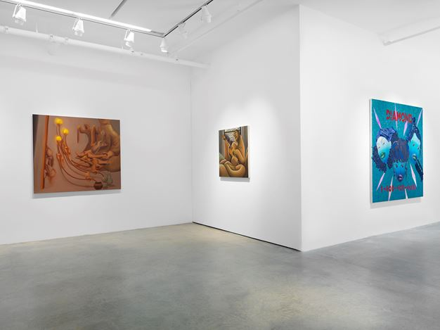 Exhibition view: Group Exhibition:Sound & Color, Miles McEnery Gallery, 511 W 22nd Street (19 November–19 December 2020). Courtesy Miles McEnery Gallery.