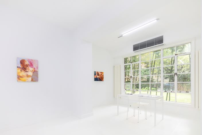 Exhibition view: Group Exhibition, Right Behind Your Eyes 匿于眼后,Capsule Shanghai, (29 June–15 August 2019). Courtesy Capsule Shanghai.