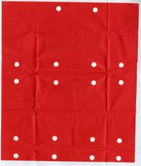Diamond Parcel Paper (A#15) by Olaf Nicolai contemporary artwork works on paper